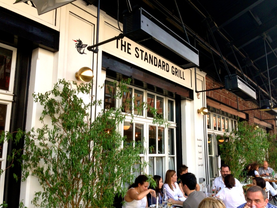 The Standard Grill, located in the Meat Packing District of NYC
