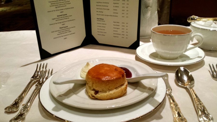 The perfect tea scone.