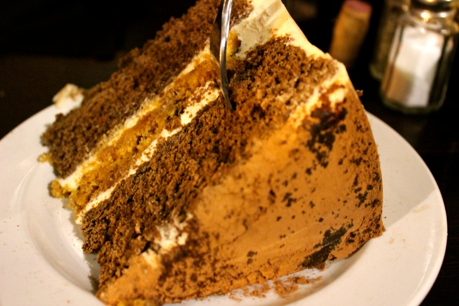 Peanut butter CAKE. With peanut butter in the middle.
